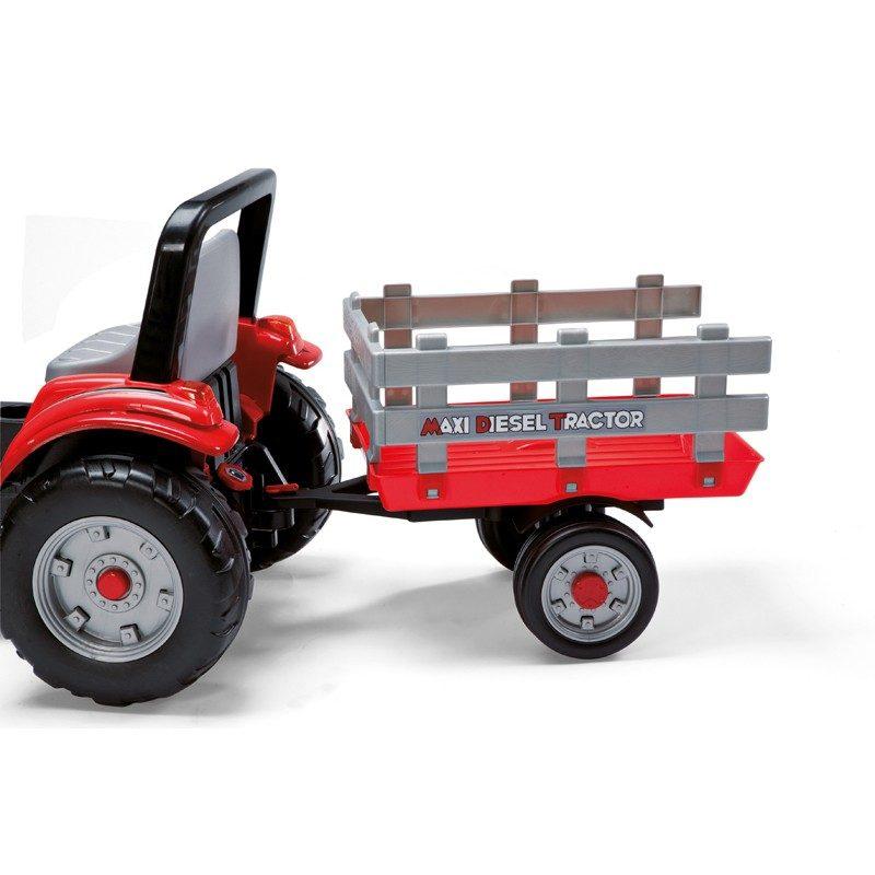 maxi diesel tractor mit anh nger peg perego deutschland. Black Bedroom Furniture Sets. Home Design Ideas